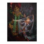 Sita and Datha-giri in Play of Yamayana
