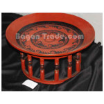 Shan Traditional Lacquer Table by Handmade
