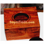 Wooden Box for Tissue Paper