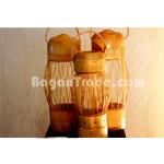 Bamboo lantern craft made in Myanmar
