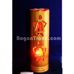 Bamboo lantern craft made in Myanmar