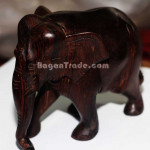 Elephant made by Burmese Blackwood
