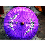 Myanmar Traditional Pathein Umbrella For Lady