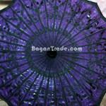 Purples Color of Bagan Design in Pathein Parasol
