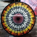 Arabesque Design of Pathein Parasol in Myanmar