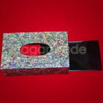 Paua Shell and Lacquerware Tissue Box Drawer