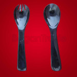 Fork and Spoon Salad Set only made Buffalo Horn