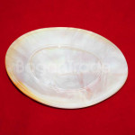 Plain Oval shaped Dessert Plate Made in Myanmar