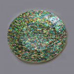 Paua Plate with gorgeous green color
