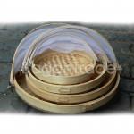 Circle Shape Fruit, Cake Bamboo Cover