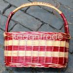 Handmade Cane Basket in Myanmar