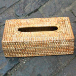 Hand woven Cane Tissue  Box Cover