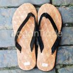 Cane with Mat design Men Foot Wear