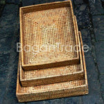 Beautiful Cane Serving Tray