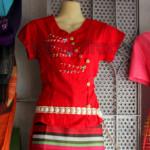 Shan Traditional Dress One Set Design