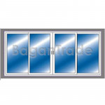 Four Leaf Sliding uPVC Doors