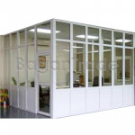 Decorative Prefabricated UPVC Partition Wall