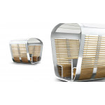 Capsule Turnable Lounge For Relaxing