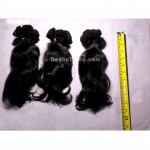 10 inches Wavy Hair Weft (100% Human Remy Hair)