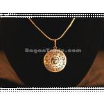 Myanmar Alphabet design Silver Necklace