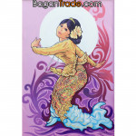 Traditional dance of Myanmar lady