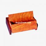 Wooden Address Card Box