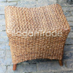 Xylophone shape Water hyacinth Chair made in Myanmar