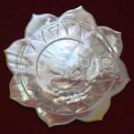 Beautiful Lotus Design Dessert Plate
