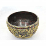 Dragon Design Big Ancient Style Bowl