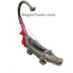 The Crocodile shape Myanmar Harp (Saung)