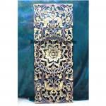 Beautiful Big Flower Panel design wood sculpture