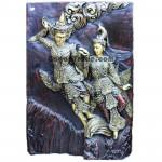 Kai Na Yi & Kai Na Yar Panel design wood sculpture