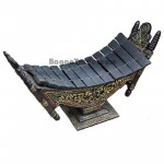 Myanmar Traditional Xylophone wooden carving