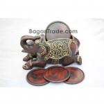 The Elephant design Round Coaster