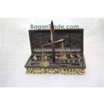 Elephant design weight of Carving Wood Balance