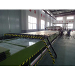 FRP carriage plate machine