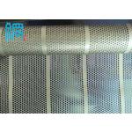 Perforated metal mesh for battery mesh