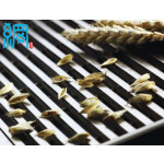 Slotted wedge wire screens for food processing