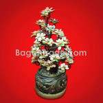 Squared Vase/Flower Pot Of Glaze Jade