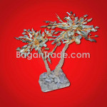 Natural Jade Gemstone Coconut Tree design