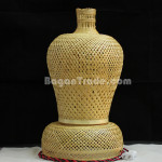 Handmade Bamboo Table Lamp Bottle Shape