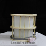 Stick bamboo lamp with fumes Paper