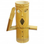 Respect Face Bamboo Lamp Handmade Cover