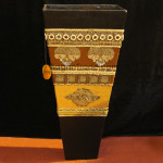 Big Flower Vase of Lacquer Product
