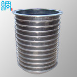 Wedge Wire Basket Slotted Pressure Screen Basket