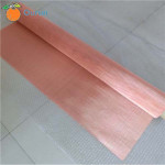 100mesh Pure Copper Woven Wire Mesh Wire Cloth