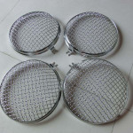 9inch(220mm) Diameter Round Headlight Stone Guard Grille for Volkswagen