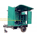 Portable high vacuum double stage mobile insulating oil purification plant