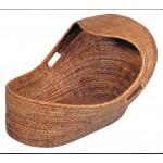Rattan Baby Basket from Myanmar