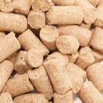 Wheat bran granulated